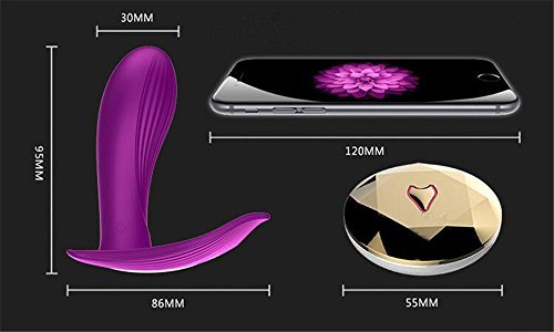 7 Speed ​​15M Butterfly Wireless Fernbedienung Strap auf Vibrating Dildo G Spot Clitoris Stimulator Wearable Vibrator Sex Toys Für Frau (PURPLE) - 2