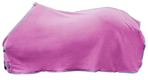 HKM Abschwitzdecke-Madrid Pferdeausstattung, pink, 155