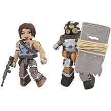 Batalla de Tomb Raider Lara Croft dañados y blindada Scavenger Figuras de acción