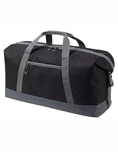 HALFAR® HF8804 Sport / Travel Bag Wing Freizeittaschen Sport- & Reisetaschen Tasche, Farbe:ORANGE black