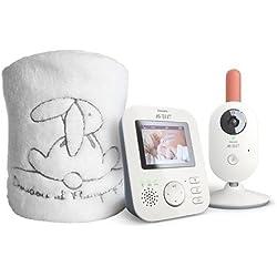 Kit écoute bébé SCD625 et plaid Doudou et Cie - Philips Avent