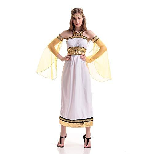 NCTM Kostüme griechische Göttin für Frauen Dance Party Performance (größe : XL) (Baby Kostüm Griechische Göttin)