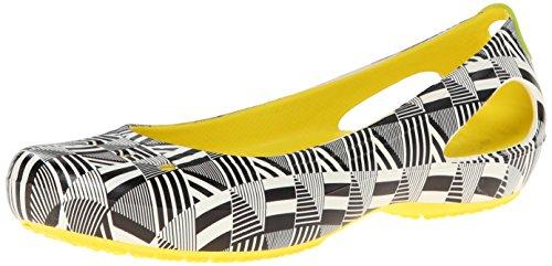 Crocs , Damen Ballerinas mehrfarbig - Burst