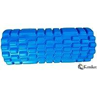 Rodillo de espuma para músculos masaje–masaje Disfrute de la firmest, la más profundo de la calidad de gimnasio Única extra rígido indestructible-core. Obtenga rápidas de corredores rodilla, Dolor de espalda de Socorro, Dolores de pantorrillas Azul azul