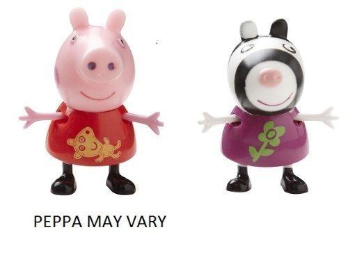 Preisvergleich Produktbild Peppa Pig Theme Park Figures - Peppa Pig & Zoe Zebra