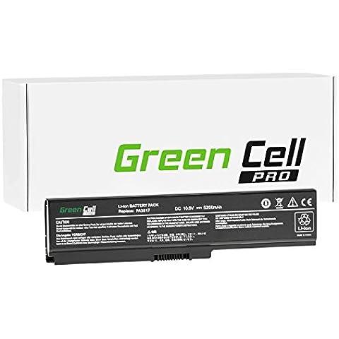 Green Cell® PRO Portátil Batería para Toshiba Satellite C660D-A2K Ordenador (Original Samsung Células, 5200mAh)