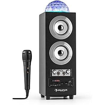 ion audio party rocker live enceinte bluetooth sans fil avec clairage led synchronis fonction. Black Bedroom Furniture Sets. Home Design Ideas