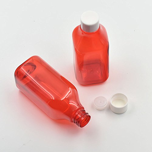 5pz 200ml coperchio di plastica vuote bottiglie contenitori turno vite copertura parziale spedizioni barattoli per viaggi