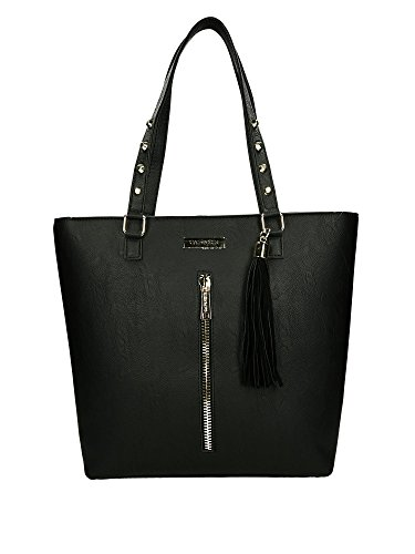CafÈnoir accessori Shopping bag borsa donna nero BR904 010 NERO