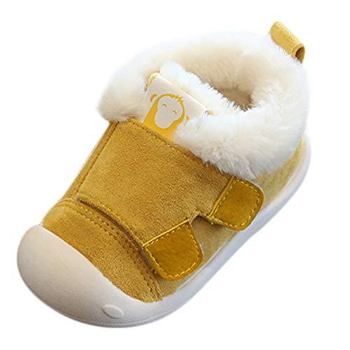 Logobeing Zapatos de Bebe Zapatillas Antideslizantes Niño Pequeños Caminantes Mullidos Calientes Primeros...