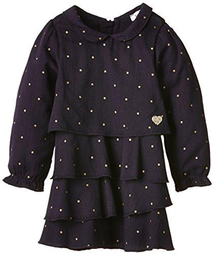 3 Pommes Baby - Mädchen, Kleid, SWEET LOVE, GR. 80 (Herstellergröße: 12 mois), Violett (prune)