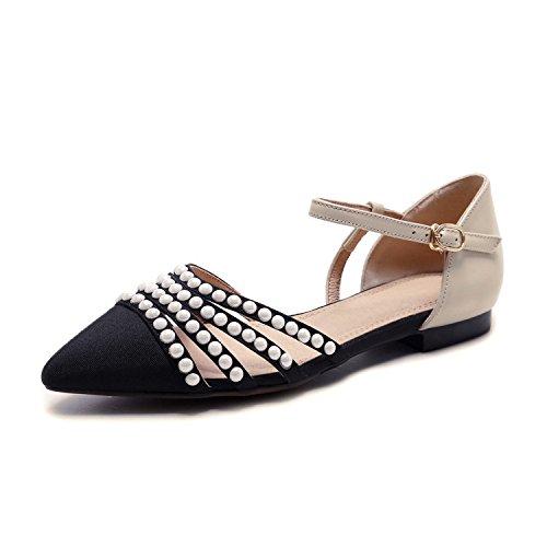 ZPPZZP La sig.ra sandali punta piatta con un fondo piatto pacchetto con color albicocca 36UK 36EU