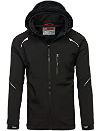 BOLF Hombre Chaqueta Softshell Outdoor Impermeable MIX