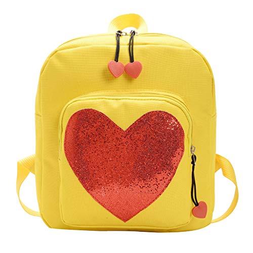 Zainetto bambina asilo zaino scuola borsa bambini cuore sacchetto scuola elementare vivaio cartone animato satchel scuola carino backpacks per miglior regalo per ragazzi ragazze 3-8 anni