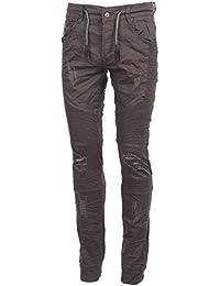 Project x - Jordan black jeans jog - Pantalon jeans slim