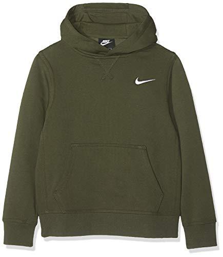 Nike Jungen B NK YA76 BF OTH Sweatshirt, Cargo Khaki/White, L