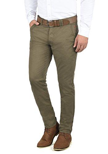 Blend Tromp Herren Chino Hose Stoffhose Aus 100% Baumwolle Regular Fit, Größe:W31/32, Farbe:Mocca Brown (71508)