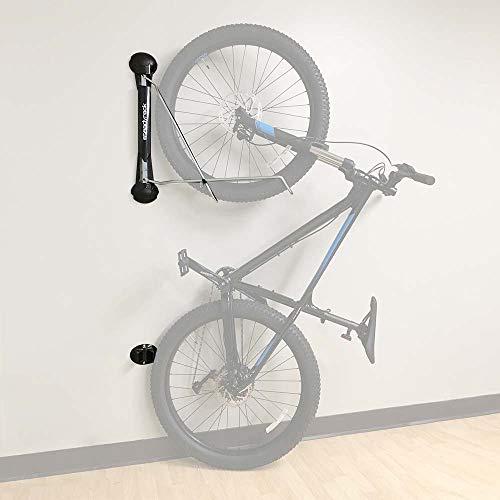 Steadyrack Unisex-Adult MTB Rack Fahrradständer Fahrradhalter Wandhalterung, Black, Einheitsgröße
