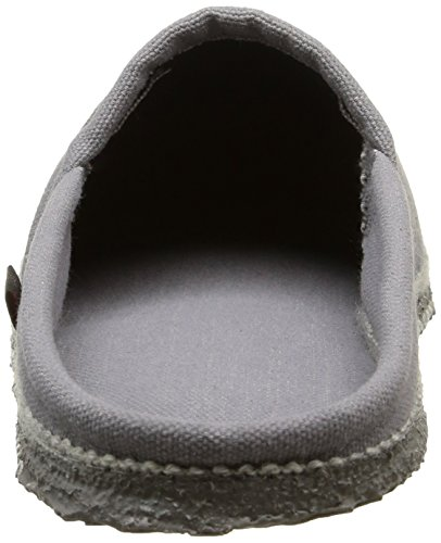 GiessweinVillach - Pantofole non imbottite Unisex – Adulto Grigio (Grau (schiefer-017))