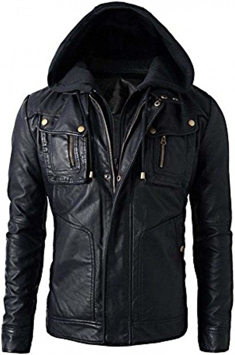 Superior Leather Giacca Garments - Giacca Leather - Cappotto - Uomo dd2111 37bc4ac67c6