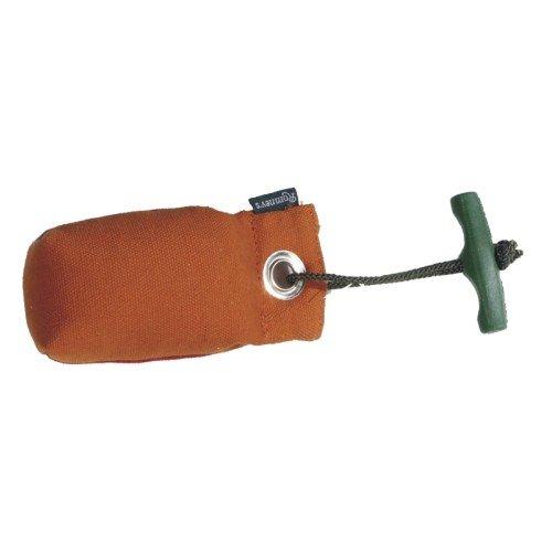 Suchendummy / Pocketdummy mit Wurfgriff - Romneys - 100g, orange - Apportiertraining/Apport für die Hundeausbildung