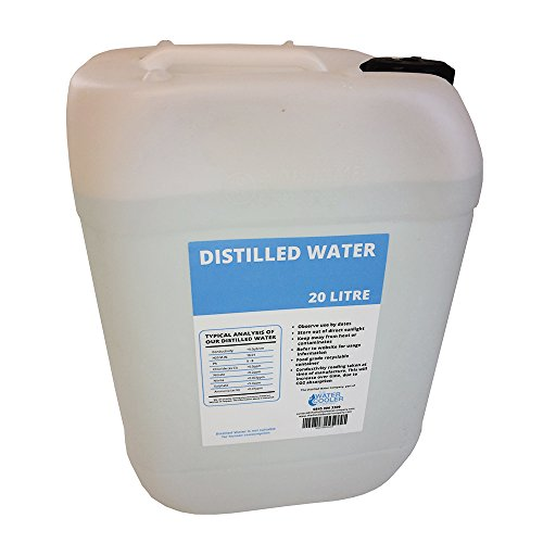 Distilled Water 20 Litre Purified Water. Medical Grade Distilled Water