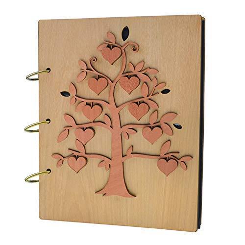 Giftgarden 13x18 album foto in legno 120 tasche