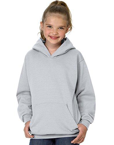 Jugend ComfortBlend EcoSmart Pullover Hoodie_Ash_XS Ash Pullover Hoodie