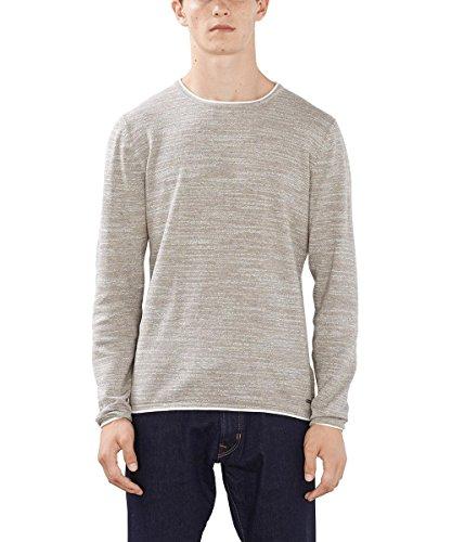 edc by ESPRIT Herren 996CC2I902 Pullover, BEIGE 270), X-Large Inside Out Long Sleeve Sweatshirt
