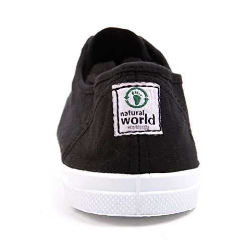 Natural World Vegan Basket Woman Negro Black