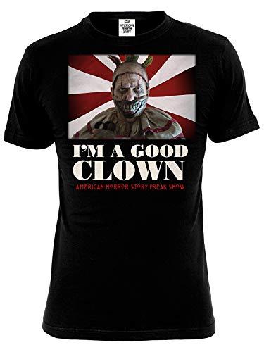 American Horror Story T-Shirt Freak Show Twisty Clown Baumwolle schwarz - M