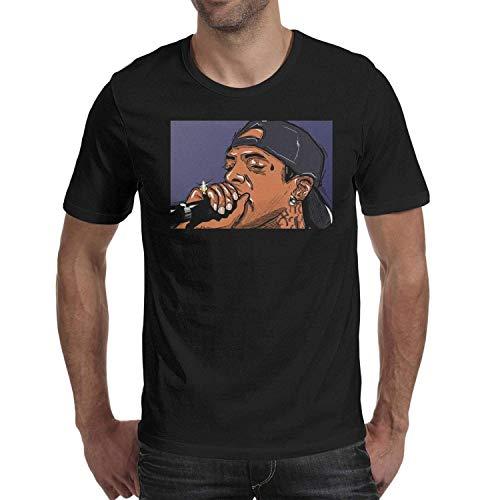 Blendendes T-Shirt R.I.P Nipsey Hussle Graphic Kurzarm T-Shirt