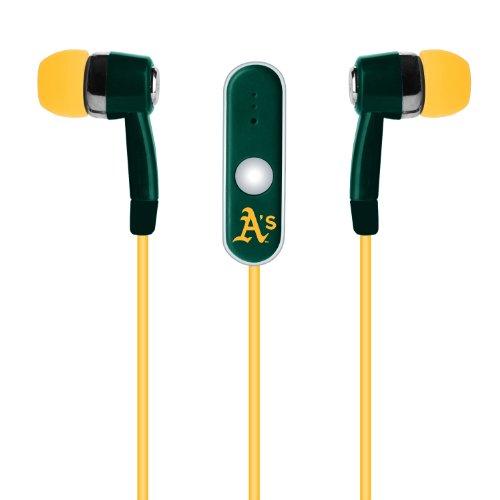 MLB Freisprech-Kopfhörer mit Mikrofon, grün
