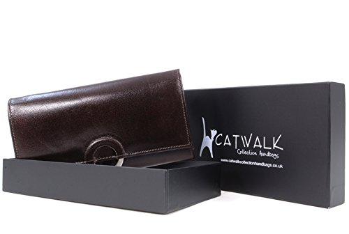 Porte-monnaie Odette en cuir signé Catwalk Collection - boîte cadeau