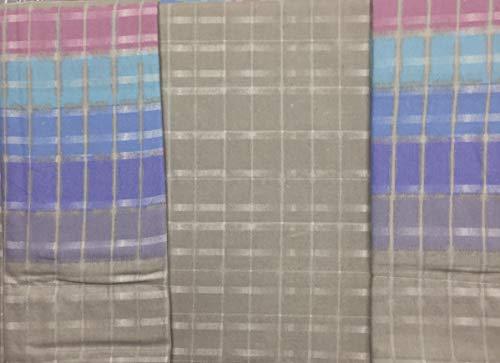 Caleffi Couvre-Lit, 100% Coton, Taupe, Unique
