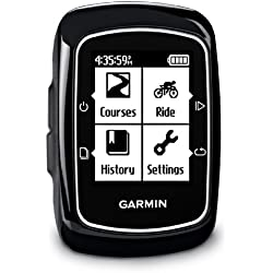 Garmin Edge 200 Touchscreen Bikes GPS with Lifetime Map Updates - Black
