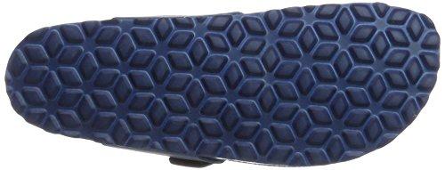Lico Damen Bioline Uni Hausschuhe Blau (Blau)