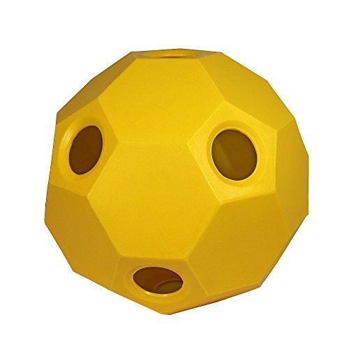 Hay Play heno Forro pelota de heno fütterer Caballos Caballos juguete amarillo