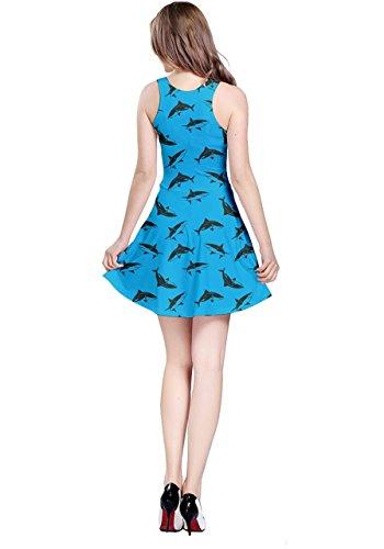 CowCow - Robe - Femme bleu bleu marine bleu ciel