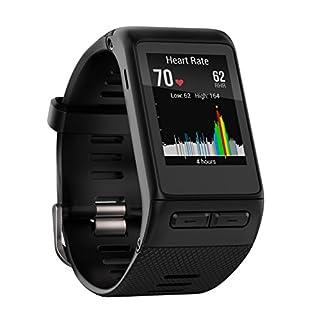 Garmin vivoactive HR Sport GPS-Smartwatch - integrierte Herzfrequenzmessung am Handgelenk, diverse Sport Apps, Smart Notification, Activity Tracker, 1,5 Zoll (3,8cm) Farbdisplay