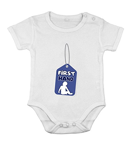 Body-soul-n-spirit Baby Newborn Clothing Short sleeve Romper Tag First hand funny print Boy 18M