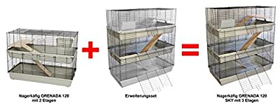 Expansion pack for Rabbit/Guinea Pig Cage Grenada 120 by PETGARD