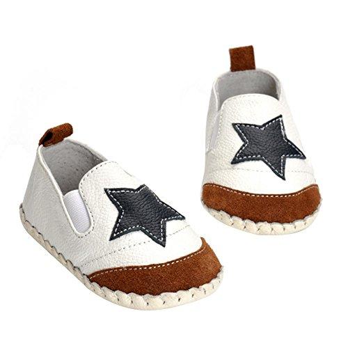 Domybest Baby Leder Moccasins Anti Slip Soft Sohle Baby Jungen Mädchen Kleinkind Schuhe Leder Baby-schuhe Walker