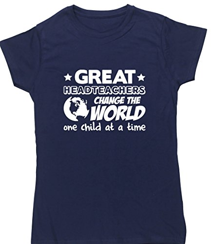 HippoWarehouse Damen T-Shirt Marineblau