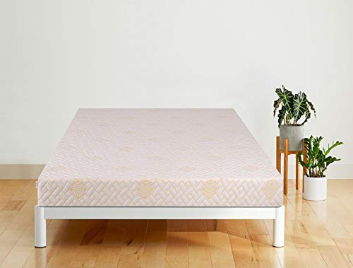 Springtek Ortho Memory Foam 6-inch Queen Size Mattress (White, 78x60x6)