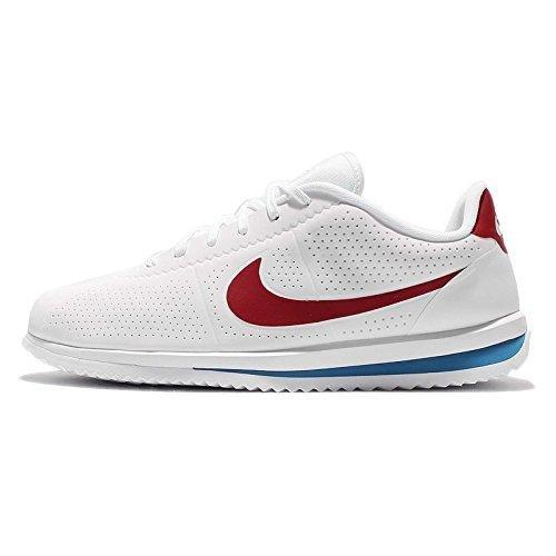Nike Herren Cortez Ultra Moire Laufschuhe, Weiß (White Red/Varsity Blue 100), 46 - Ultra Moire Nike