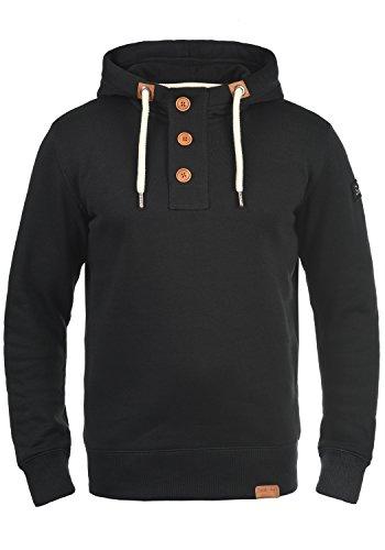SOLID TripStrip Herren Kapuzenpullover Hoodie Sweatshirt aus hochwertiger Baumwollmischung, Größe:XL, Farbe:Black (9000)