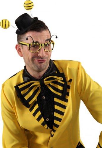 Faschingszubehör Brille Biene oder Käfer (Brille Biene)