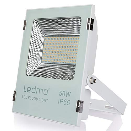 focos led exterior 50W 2700K Blanco cálido,foco proyector led IP65 Impermeable,focos led...