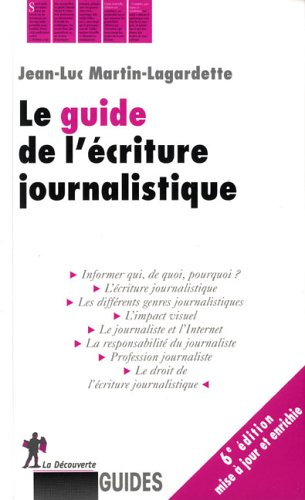 GUIDE ECRITURE JOURNALISTIQUE